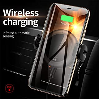 Wireless Car Charger Mount - Auto Liberator 7.5W /10W - Fast Charging - Car Phone Holder Air Vent Dashboard - Compatible with iPhone 8/8 Plus/X/Xs/Xs Max/Xr Samsung Galaxy S10/S10+/S9/S9+/S8/S8+/🔋⚡