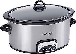 Crock-Pot 4-Quart Smart-Pot Programmable Slow Cooker, Silver