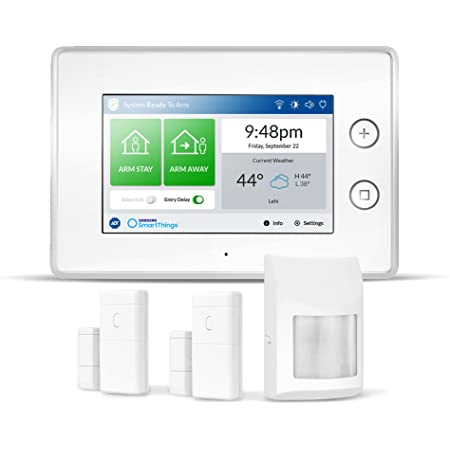 Amazon.com: Samsung Electronics F-ADT-STR-KT-1 SmartThings ADT Wireless  Home Security Starter Kit with DIY Smart Alarm System Hub, Door and Window  Sensors, Motion Detector- Alexa Compatible, White: Home Improvement   Adt Wireless Alarm Diagram      Amazon