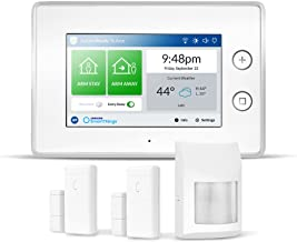 Samsung SmartThings ADT Wireless Home Security Starter Kit with DIY Smart Alarm System Hub, Door and Window Sensors, and M...