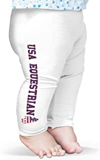 Twisted Envy USA Equestrian Baby Printed Leggings