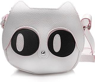DRF Crossbody Bag for Women Cat Shoulder Bag PU Leather BGW02