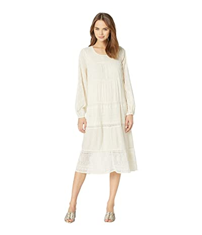 Free People Gemma Midi Dress (Cream) Women