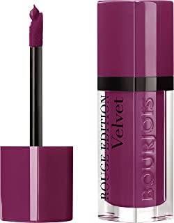 Bourjois, Rouge Edition Velvet Liquid lipstick 14 Plum Plumgirl Volume, 6.7 ml/0.23 oz