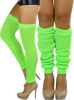 Women's Long Thigh Hi Separated Leg Warmers