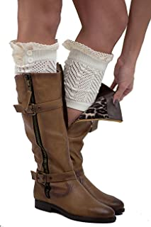 39c2beeab7d The Original 2 Button Lace Boot Cuffs Boutique Socks by Modern Boho