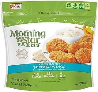Morningstar Farms Veggie Buffalo Wings, 10.5 Ounce -- 6 per case.