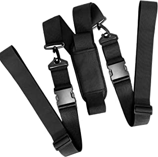 Kayak Sup Carry Strap Adjustable Canoe Stand UP Paddle Surfboard Carrying Belt with Shoulder Strap, Detachable Center Fin ...