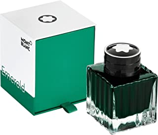Montblanc 2018 Color Of The Year Emerald Green Bottled Fountain Pen Ink 50 ML