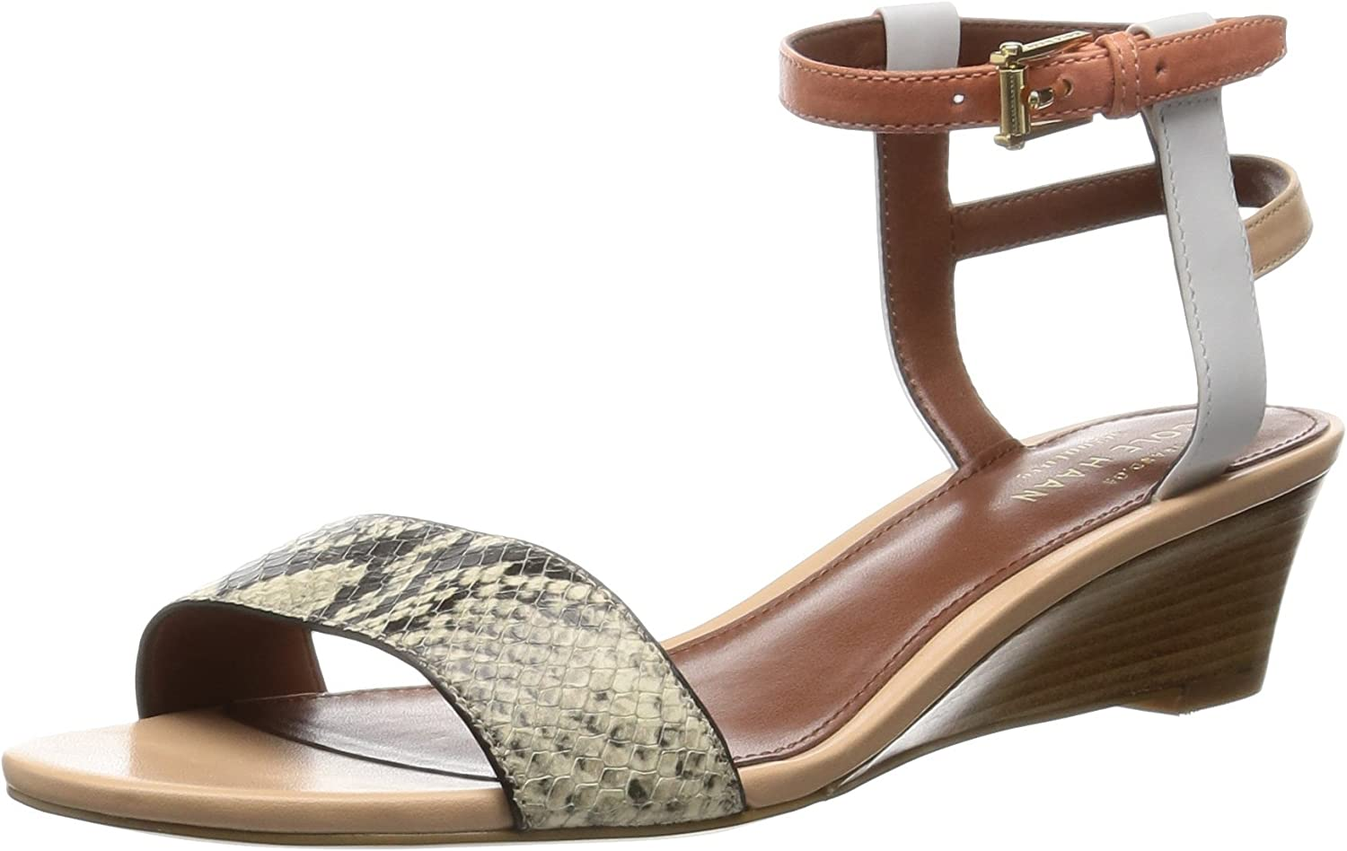 Cole Haan Womens Ayana Wedge Sandal Wedge Sandal