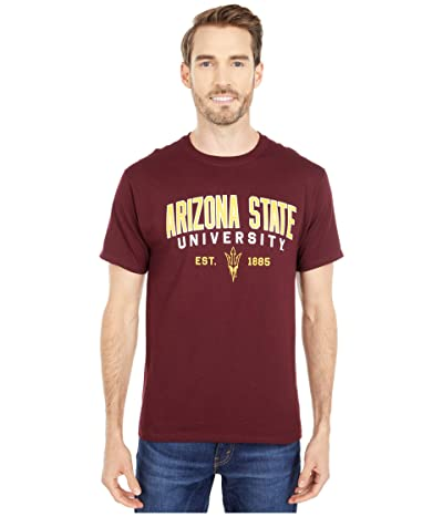 Champion College Arizona State Sun Devils Jersey Tee (Maroon 4) Men