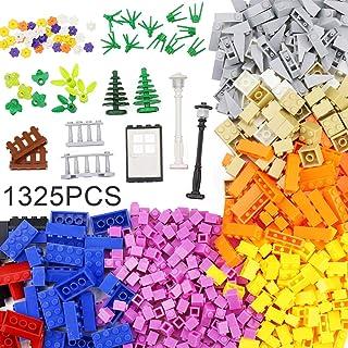MARUMINE クラシックブロックおもちゃ1325ピースセット 、10色以上、6歳以上の男の子と女の子に最適STEMおもちゃブロックスターターセット、主要な国際ブランドとの互換性|知育玩具