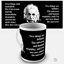 einstein quotes stupidity universe