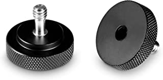 SMALLRIG Quick Release Thumb Screw with 1/4'' Female Thread for Camera/Tripod Rig (Pack of 2) – 1089