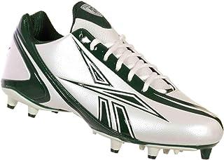 89b9e1ff4 Reebok NFL Burner Speed Low M3 Mens Football Shoes White Green 13 M
