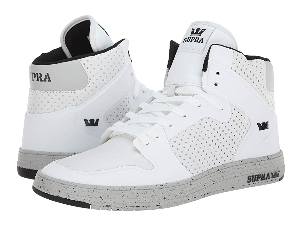 Supra Vaider 2.0 LX (White/Light Grey/Light Grey) Men