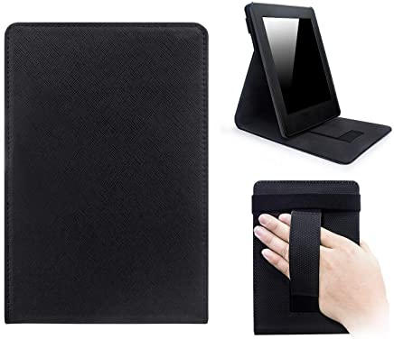Capa Novo Kindle Paperwhite a prova D'água WB Premium Freedom Auto Hibernação - Preta, WB, Capa Flip, Preta
