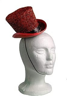 Arsimus Mardi Gras St. Patrick's Day Leprechaun Mini Party Hat (Red)