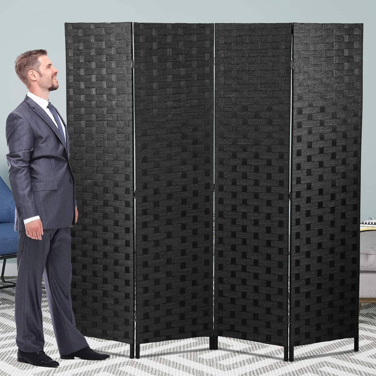 4 Indianapolis Mall Purchase Panels Room Divider Dividers and Privacy Folding Screens