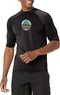 قميص سباحة ميركوري للرجال بعامل حماية من اشعة الشمس 50+ وواقي من اشعة الشمس والطفح الجلدي باكمام قصيرة من كانو سيرف