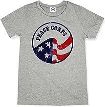 Hank Player U.S.A. Vintage Peace Corps Logo Men's T-Shirt