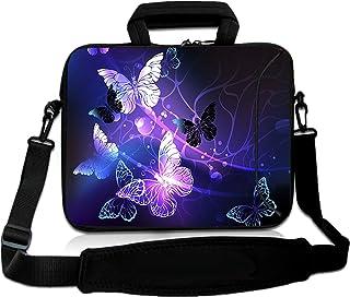 RICHEN 14 15 15.4 15.6 inch Laptop Shoulder Bag Messenger Bag Case Notebook Handle Sleeve Neoprene Soft Carring Tablet Tra...