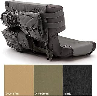 Smittybilt 5660201 GEAR Black Rear Seat Cover