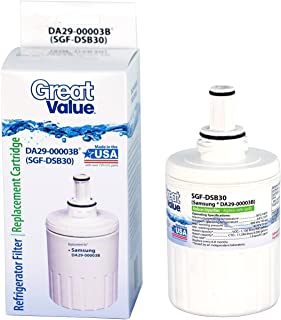 Great Value Refrigerator Water Filter Replacement Cartridge Samsung DA29-00003G B WLM8 SGF-DSB30