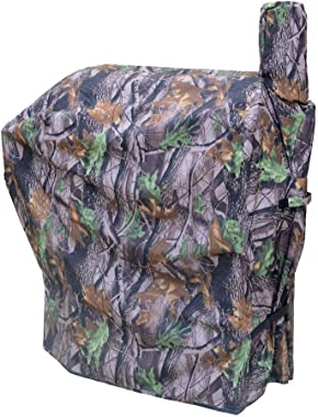 Cloakman Leaf-Pattern Grill Cover for Traeger Pro 22 Series Wood Pellet Grill BAC379 (for Pro 22/Pro 575)