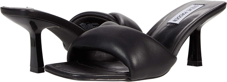 Steve Madden Women's Kitten Heel Sandal Heeled