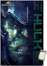 "Trends International Marvel Cinematic Universe - Thor - Ragnarök - Hulk Wall Poster, 22.375"" x 34"", Premium Poster & Mount..."