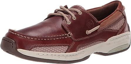 Dunham Men's Captain Boat Shoe,Brown,8.5 2E