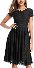 Best lace cap sleeve swing dress Reviews