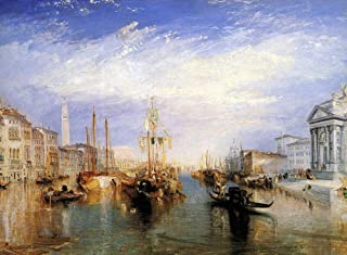 Grand Canal in Venice Poster Print by JMW Turner (18 x 24)