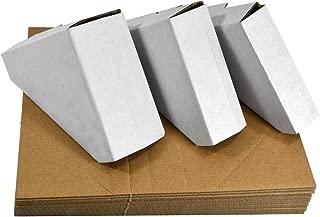 Golden State Art, Adjustable Cardboard Corner Protector for Picture Frame (Pack of 100)