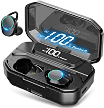 [Xmythorig Ultimate] True Wireless Earbuds Bluetooth 5.0 Headphones, IPX7 Waterproof Earphones for Sports, 110H Playtime w...