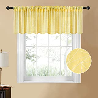Best yellow kitchen curtains Reviews