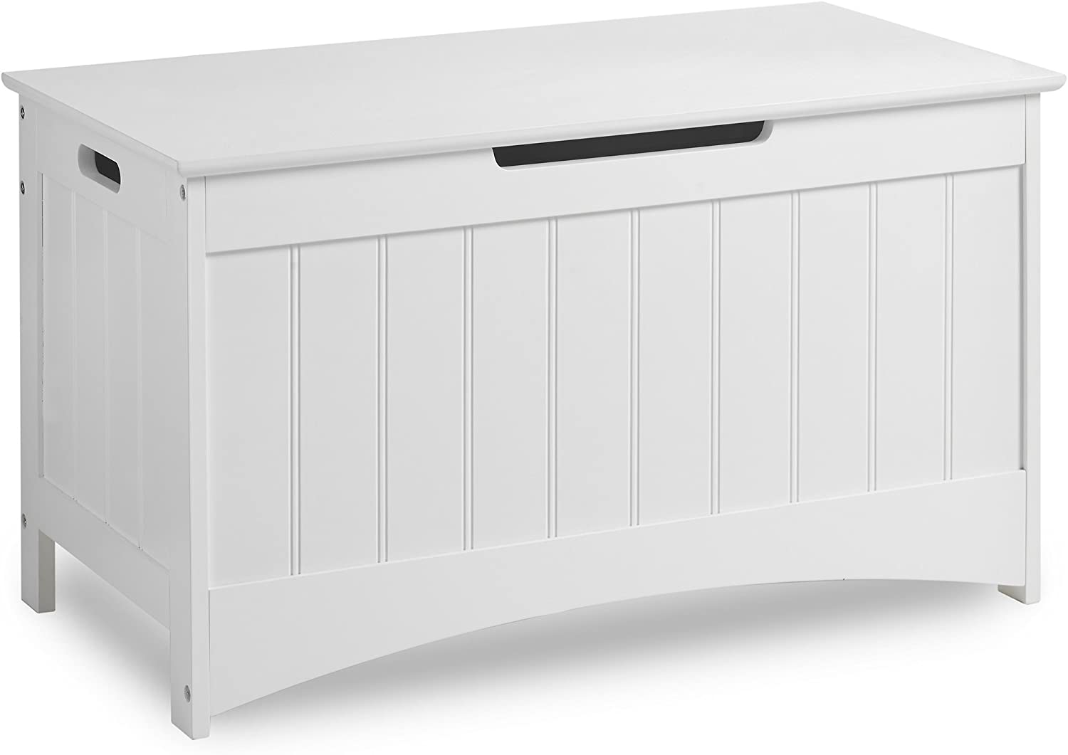 VonHaus Colonial Storage Box  Classic White Storage Chest with easyopen operation  Bedroom Furniture