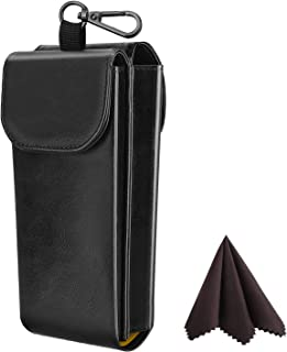 Best leather double glasses case Reviews