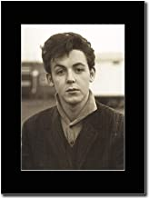 gasolinerainbows - Paul McCartney - Young Paul - Matted Mounted Magazine Promotional Artwork on a Black Mount
