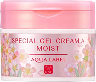 AQUALABEL(アクアレーベル) スペシャルジェルクリームA (モイスト) S オールインワン 桜の香り 単品