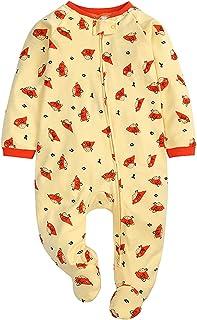 HINK Mameluco y Mono para niñas, recién Nacido, bebés, niños, niñas, Estampado, Caricatura, Lindo, Mantener Caliente, Mame...
