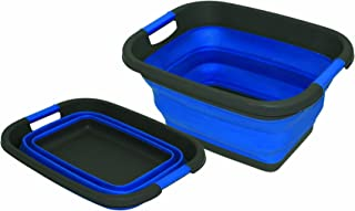 Large Collapsible Bowl (UK Size: One Size) (Blue)