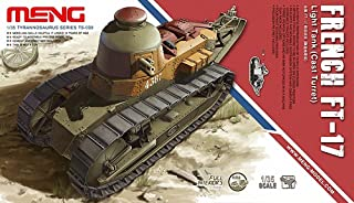 Meng French FT-17 Light Tank with Cast Turret