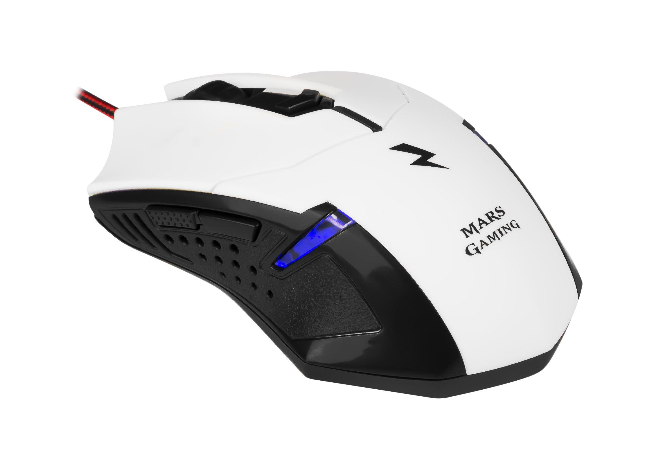 Mars Gaming MCPZE1 - Pack de teclado y ratón gaming para PC (12 ...