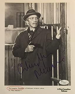 Christopher Plummer Autographed Signed Memorabilia B/W Photo JSA COA ?the Amateur