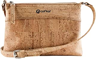 Corkor Cork Purse Crossbody Women | Vegan Bag Cruelty Free Non Leather