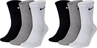 NIKE, U Nk Everyday Cush Crew 3pr Socks Hombre