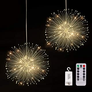 Led Lights for Bedroom Decorations Fairy Lights Hanging Lights - Lifetime Replacement Guarantee -Battery-Powered Outdoor L...