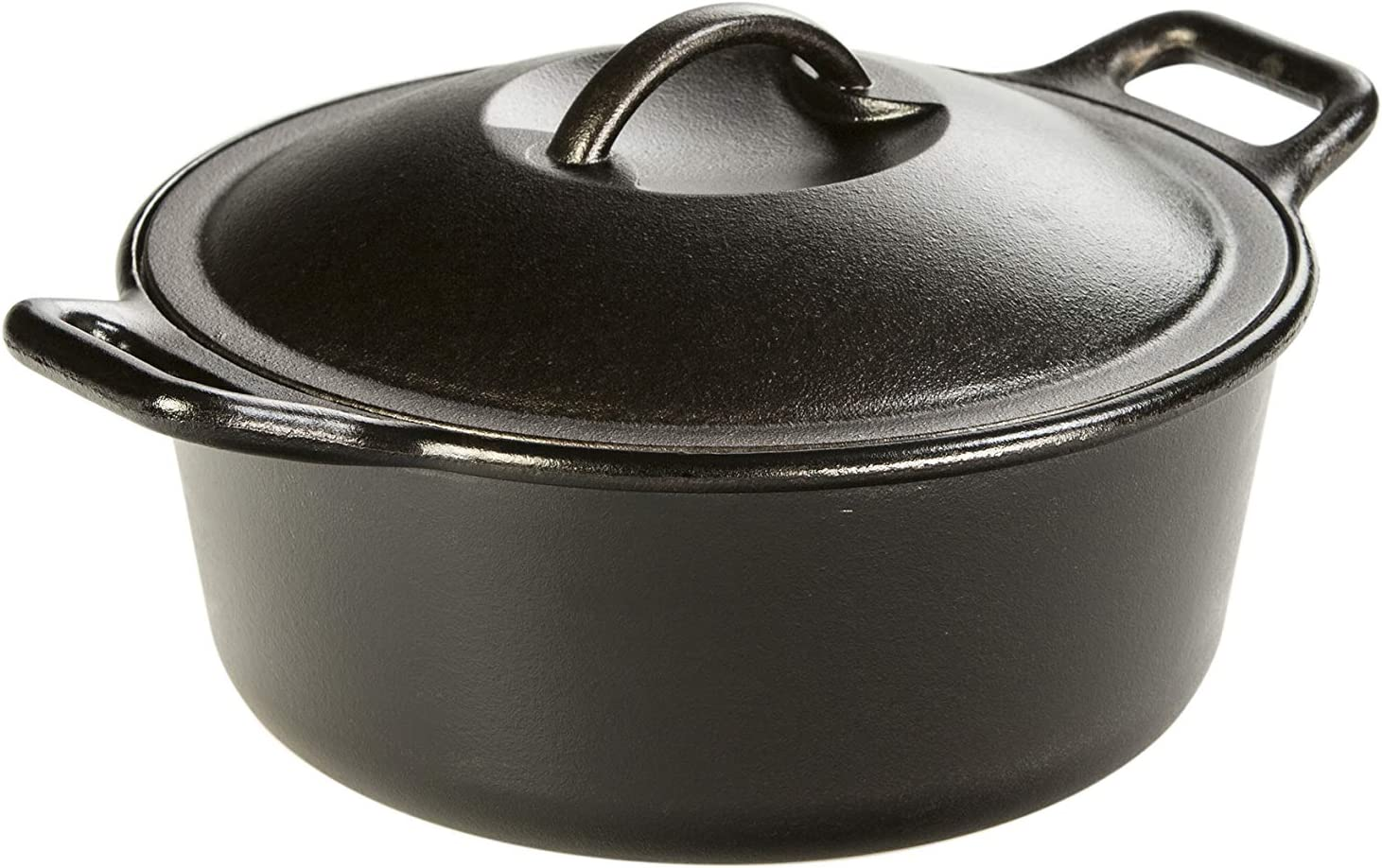 Lodge Pro-Logic 4 Dealing full price reduction Quart Cast Iron Pot w Al sold out. Pre-Seasoned Dutch Oven.
